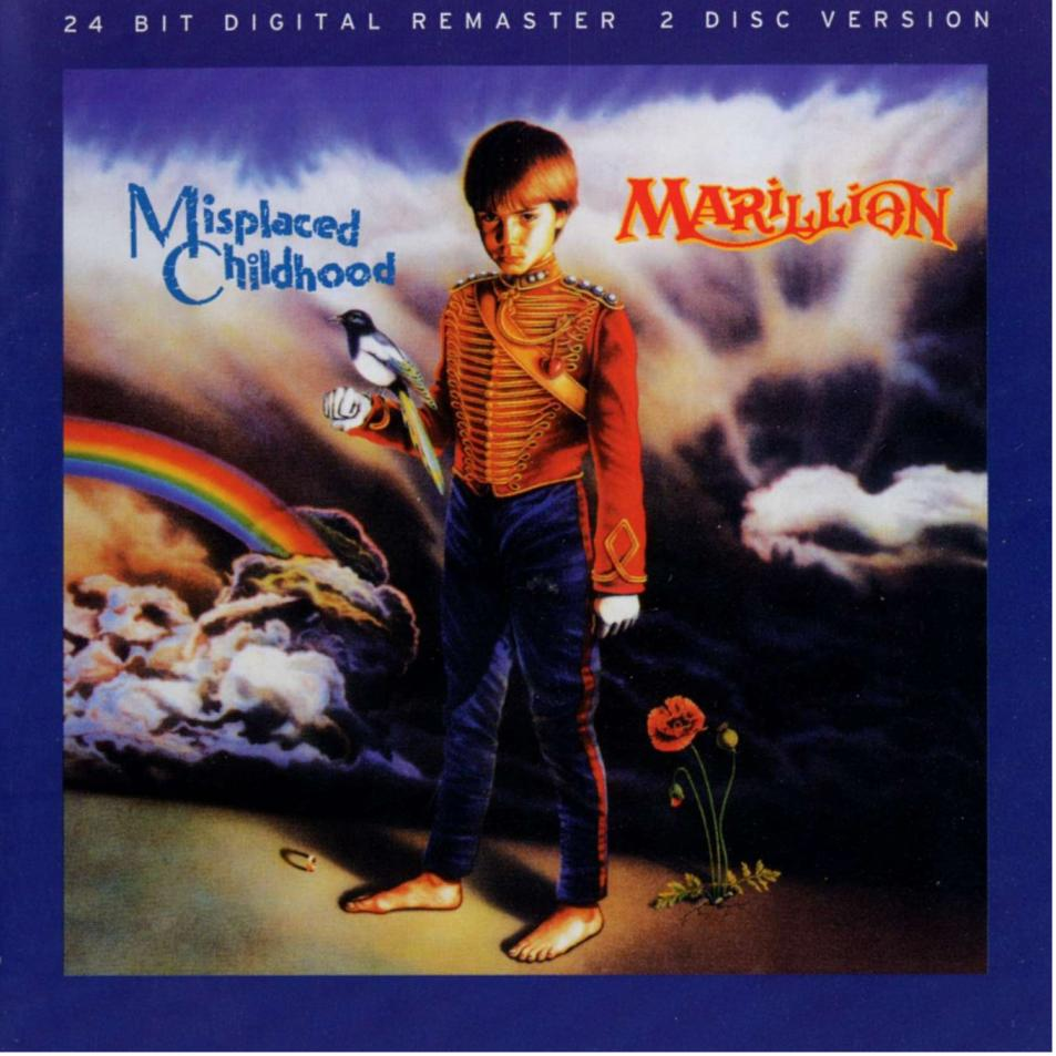 Marillion Misplaced Childhood Remastered 1985 The